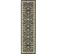 Link to 2' 7 x 10' Isfahan Design Runner Rug