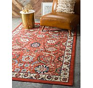 Link to 8' x 10' Isfahan Design Rug