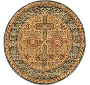 Link to Unique Loom 3' 3 x 3' 3 Palace Round Rug