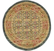 Link to 3' 3 x 3' 3 Mamluk Round Rug