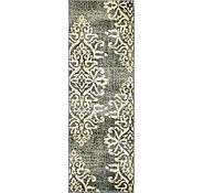 Link to 65cm x 183cm Damask Runner Rug