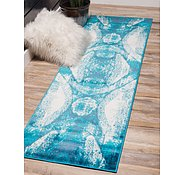 Link to Unique Loom 3' 3 x 19' 8 Sofia Runner Rug