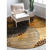 Link to 4' x 4' Coffee Shop Round Rug