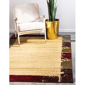 Unique Loom 4' x 6' Barista Rug