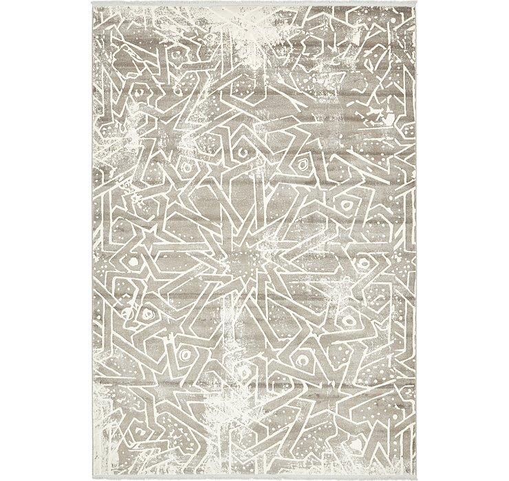 Gray Modern Classical Rug