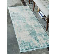 Link to 2' 2 x 6' New Vintage Runner Rug