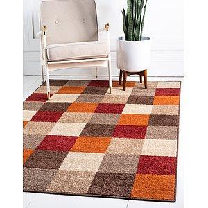 Unique Loom 8' x 10' Autumn Rug