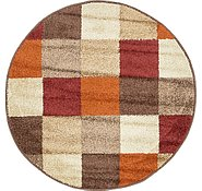 Link to 3' 3 x 3' 3 Harvest Round Rug
