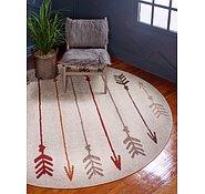 Link to Unique Loom 3' 3 x 3' 3 Autumn Round Rug