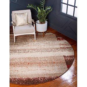Unique Loom 3' 3 x 3' 3 Autumn Round Rug