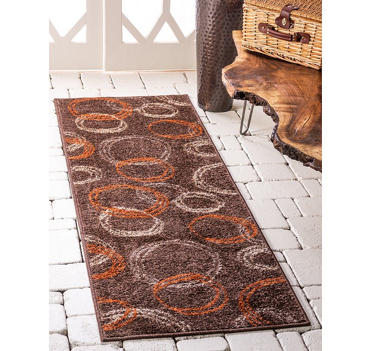 Brown Equinox Runner Rug