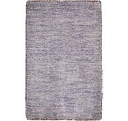 Link to 1' 4 x 2' 1 Solid Gabbeh Rug
