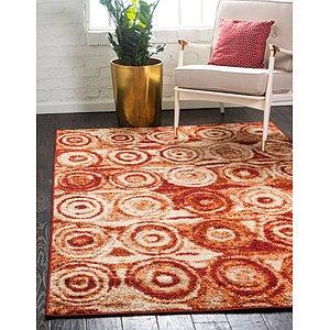 Unique Loom 5' x 8' Autumn Rug