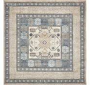 Link to Unique Loom 5' x 5' Salzburg Square Rug