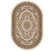 Link to 6' 3 x 9' 6 Nain Design Oval Rug