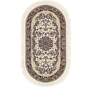 79x152 Mashad Design Rug