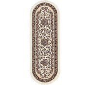 Link to 3' 3 x 9' 10 Mashad Design Oval Rug