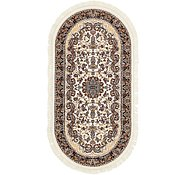 Link to 100cm x 200cm Mashad Design Oval Rug