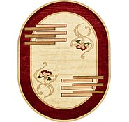 Link to 300cm x 395cm Reproduction Gabbeh Oval Rug