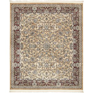 Unique Loom 8' 4 x 10' Tabriz Design Rug