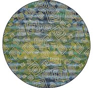 Link to Unique Loom 8' x 8' Outdoor Modern Round Rug