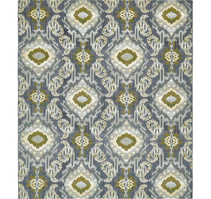 Unique Loom 10' x 12' Outdoor Modern Rug