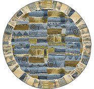 Link to 8' x 8' Outdoor Modern Round Rug