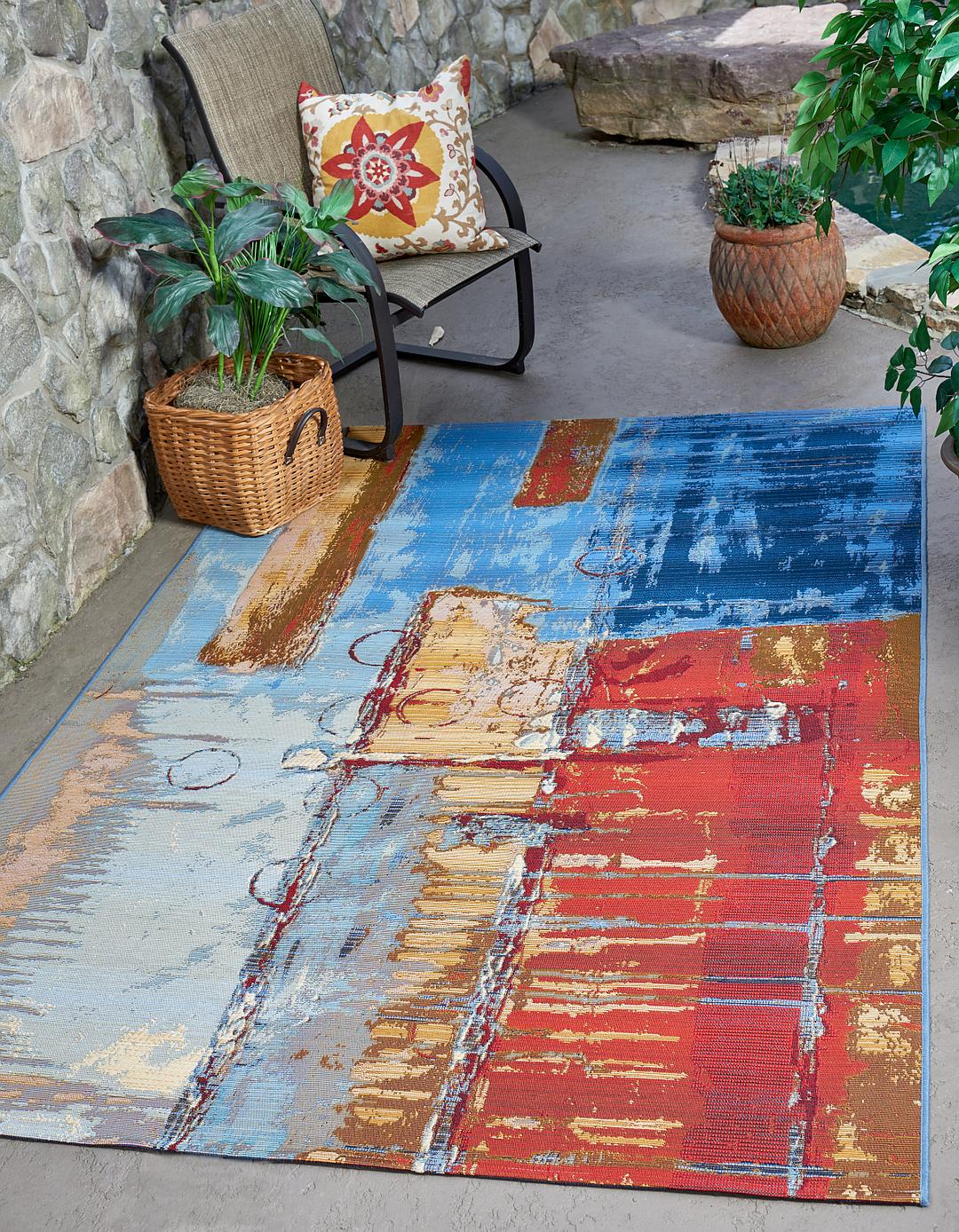 Main 5 3 X 8 Outdoor Modern Rug Photo