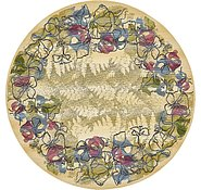 Link to 245cm x 245cm Outdoor Botanical Round Rug
