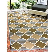 Link to Unique Loom 4' x 6' Eden Outdoor Rug