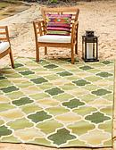 2' 2 x 3' Outdoor Lattice Rug thumbnail image 1