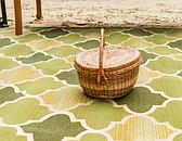 2' 2 x 3' Outdoor Lattice Rug thumbnail image 4