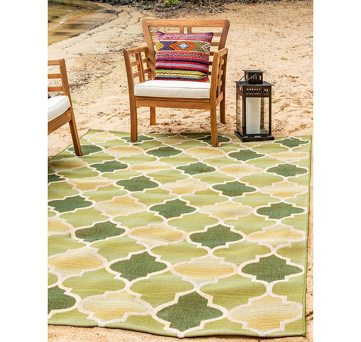 10' x 12' Outdoor Trellis Rug