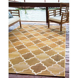 Unique Loom 10' x 12' Outdoor Rug