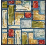Link to 6' x 6' Outdoor Modern Square Rug