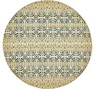 Link to Unique Loom 8' x 8' Eden Outdoor Round Rug
