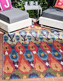 Unique Loom 5' 3 x 8' Outdoor Modern Rug thumbnail image 1