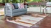 Unique Loom 10' x 12' Outdoor Modern Rug thumbnail image 2