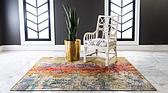 6' x 6' Outdoor Modern Square Rug thumbnail