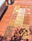Unique Loom 2' x 6' Outdoor Botanical Runner Rug thumbnail image 1