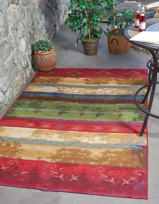 multi 4 39 x 6 39 outdoor modern rug area rugs irugs uk. Black Bedroom Furniture Sets. Home Design Ideas