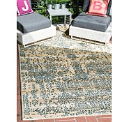 Link to 5' 3 x 8' Outdoor Botanical Rug