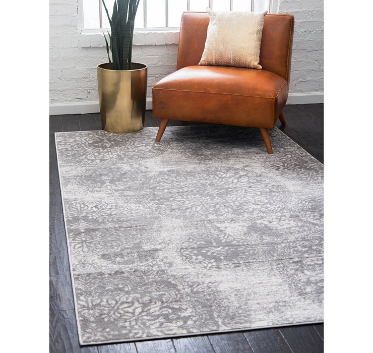 Light Gray Monte Carlo Rug