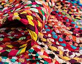9' x 12' Braided Chindi Rug thumbnail image 6