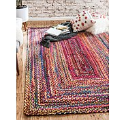 Link to Unique Loom 2' x 3' Braided Chindi Rug
