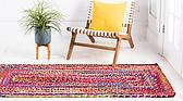 75cm x 183cm Braided Chindi Runner Rug thumbnail image 3