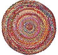 Link to 3' 3 x 3' 3 Braided Chindi Round Rug