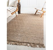 Link to 5' x 8' Braided Jute Rug