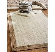 Link to Unique Loom 6' x 9' Braided Jute Rug