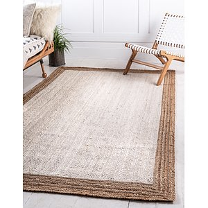 Unique Loom 8' x 10' Braided Jute Rug
